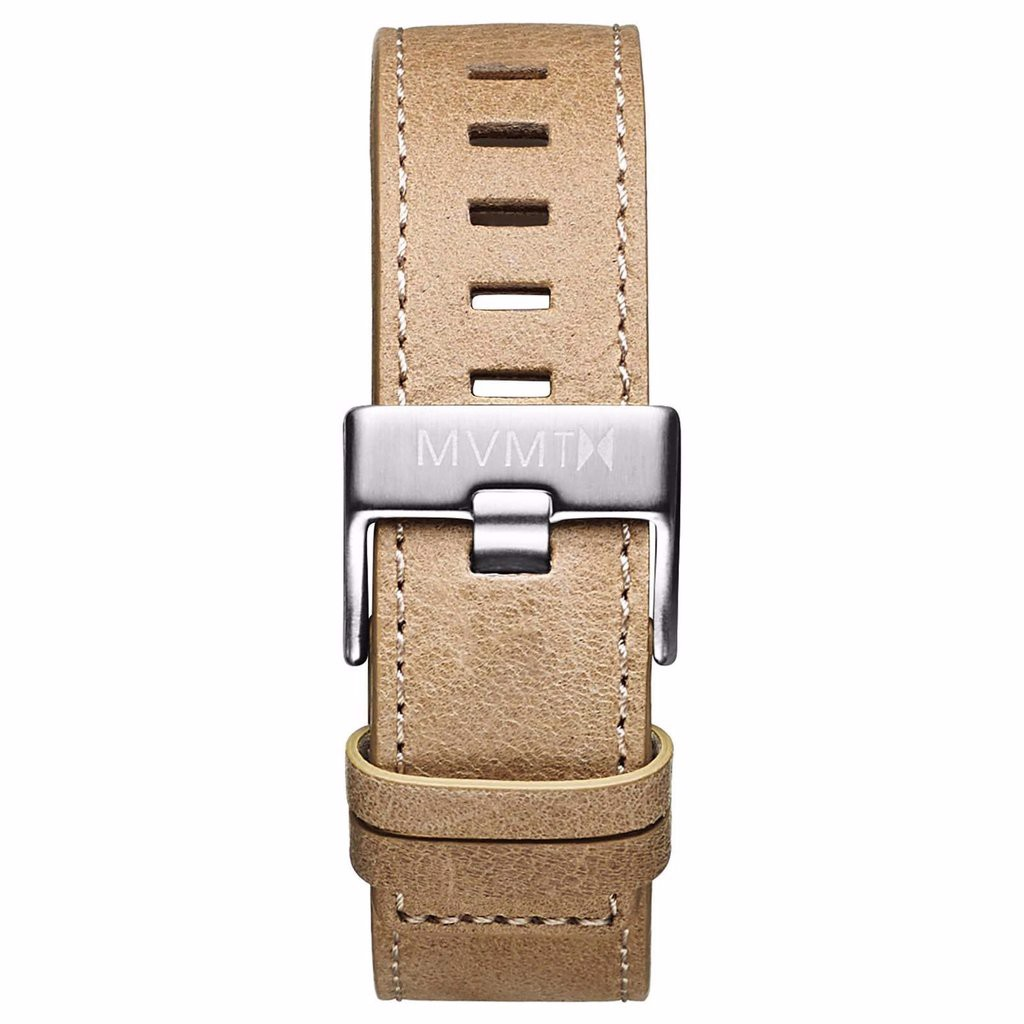 Dây Đeo Đồng Hồ MVMT 22mm Sandstone Leather - Chrono 45 Series