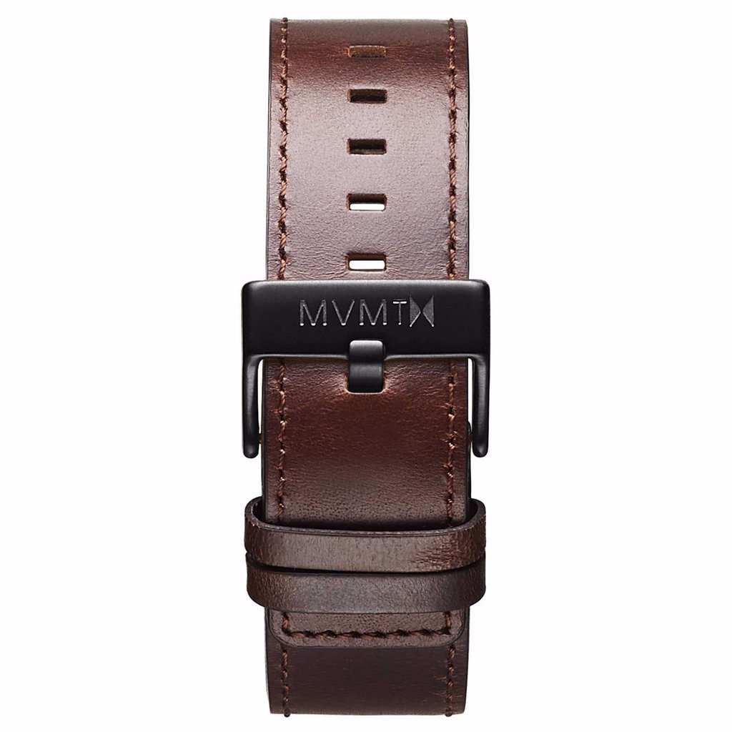 Dây Đeo Đồng Hồ MVMT 24mm Brown Leather - Classic Series