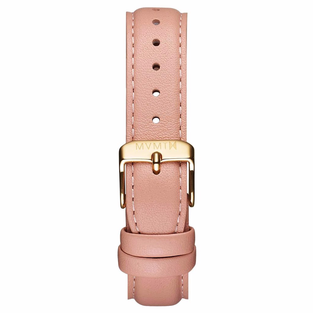 Dây Đeo Đồng Hồ MVMT 18mm Peach Leather - Signature Series