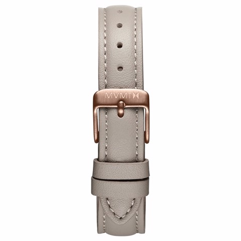 Dây Đeo Đồng Hồ MVMT 16mm Taupe Leather - Nova Series