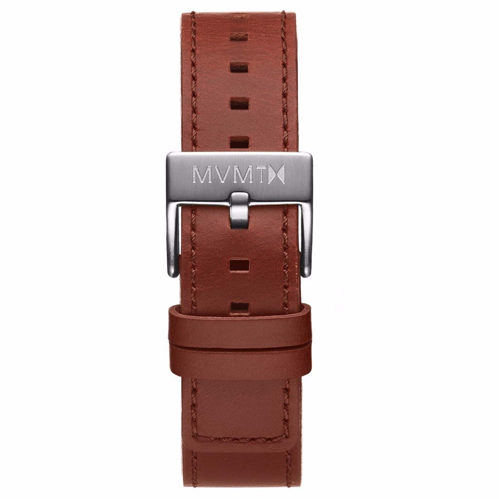 Dây Đeo Đồng Hồ MVMT 20mm Natural Tan Leather - Chrono 40 Series