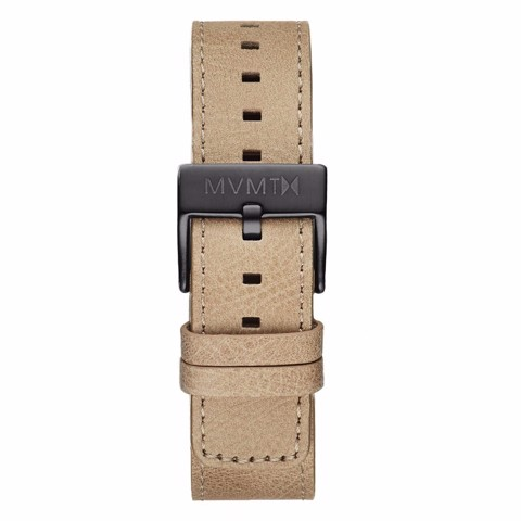 Dây Đeo Đồng Hồ MVMT 20mm Sandstone Leather - Chrono 40 Series