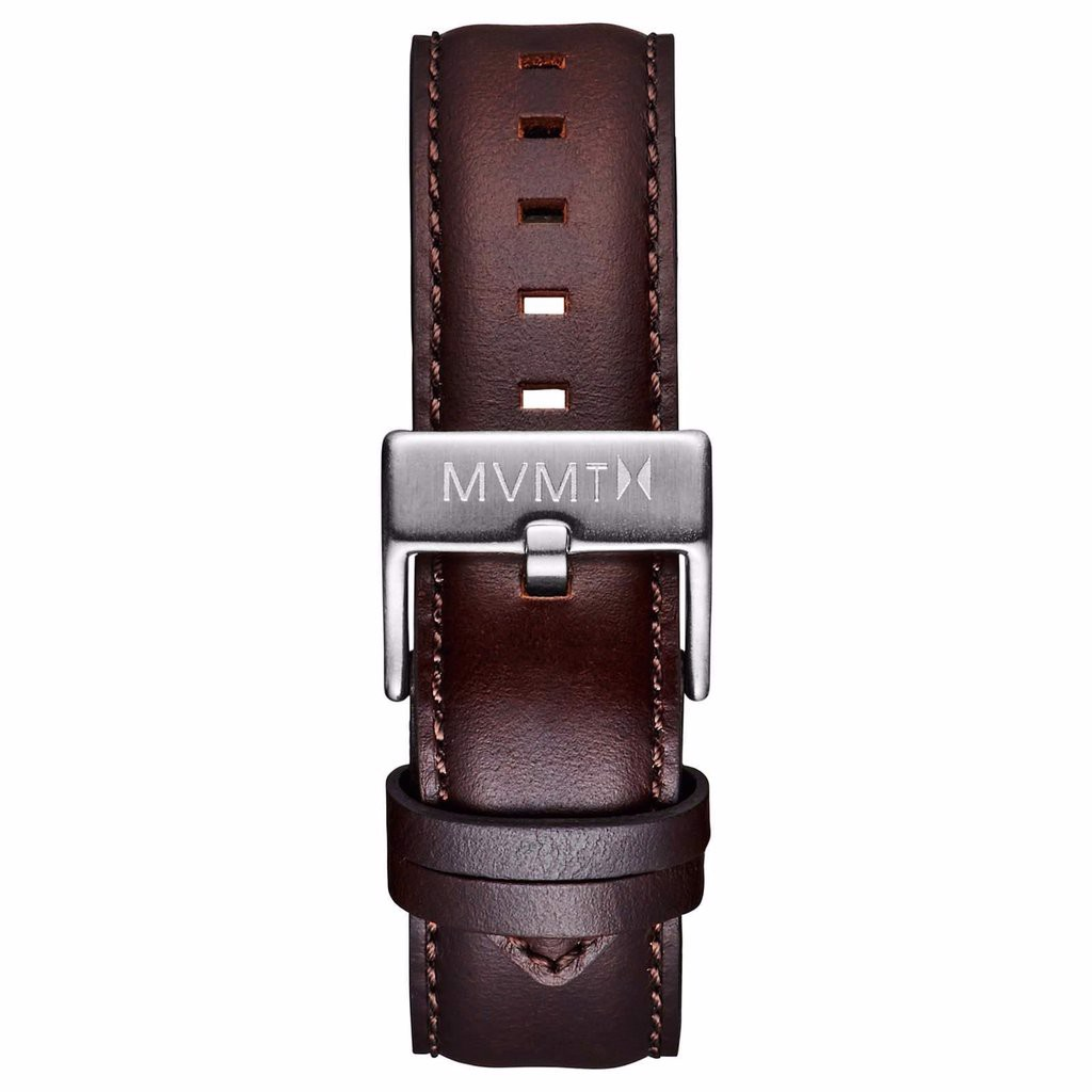 Dây Đeo Đồng Hồ MVMT 20mm Brown Leather - 40 Series