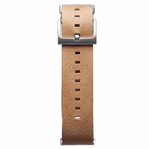 Dây Đeo Đồng Hồ MVMT 21mm Caramel Leather - Voyager Series