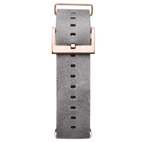 Dây Đeo Đồng Hồ MVMT 21mm Light Grey Leather - Voyager Series