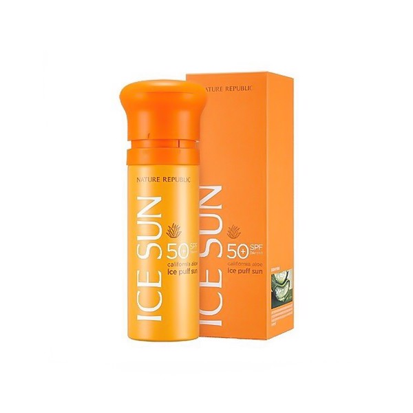CHỐNG NẮNG NATURE REPUBLIC ICE PUFF SUN