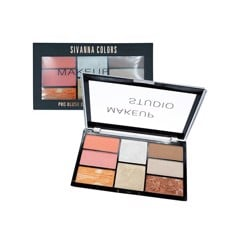 SIVANNA COLORS HF369 PRO BLUSH, CONTOUR, HIGHLIGHT