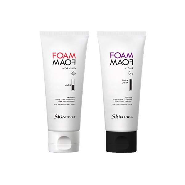 COMBO SKIN1004 FOAM FOAM MORNING & NIGHT CLEANSER