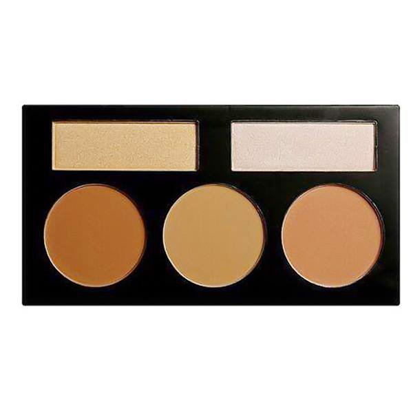 TẠO KHỐI BEAUTY CREATIONS DOUBLE SHINE CONTOUR PALETTE