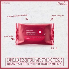 Innisfree Camellia Essential Hair Styling Tissue 68g