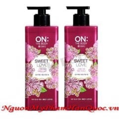 Sữa tắm On:the Body Perfume Sweet Love Body Wash