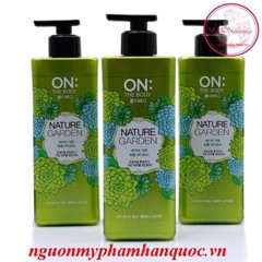 sữa tắm on the body 900g perfume nature gadern