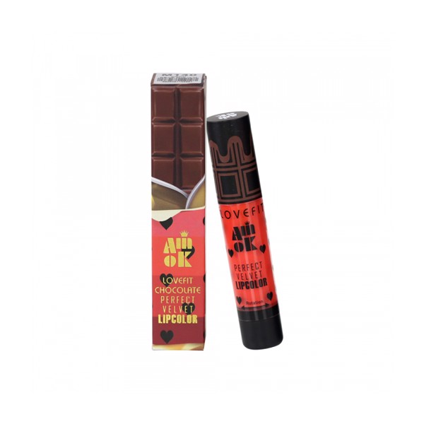 SON KEM AMOK CHOCOLATE PERFECT VELVET LIPCOLOR