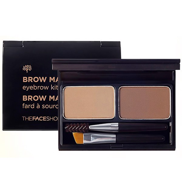 BỘT TÁN CHÂN MÀY THE FACE SHOP BROW MASTER EYEBROW KIT