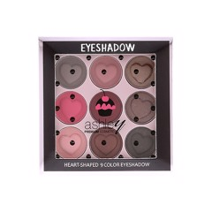 PHẤN MẮT 9 Ô ASHLEY HEART SHAPED 9 COLOR EYESHADOW A268