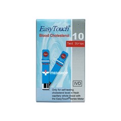 que thu cholesterol easy touch 10 test