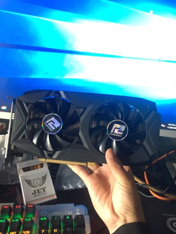 CARD MÀN HÌNH POWER COLOR RX 580 4GDDR5