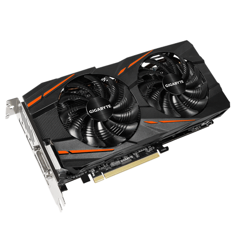Card màn hình GIGABYTE RX570 GAMING-4G (4GB GDDR5, 256-bit, DVI+HDMI+DP, 1x8-pin)