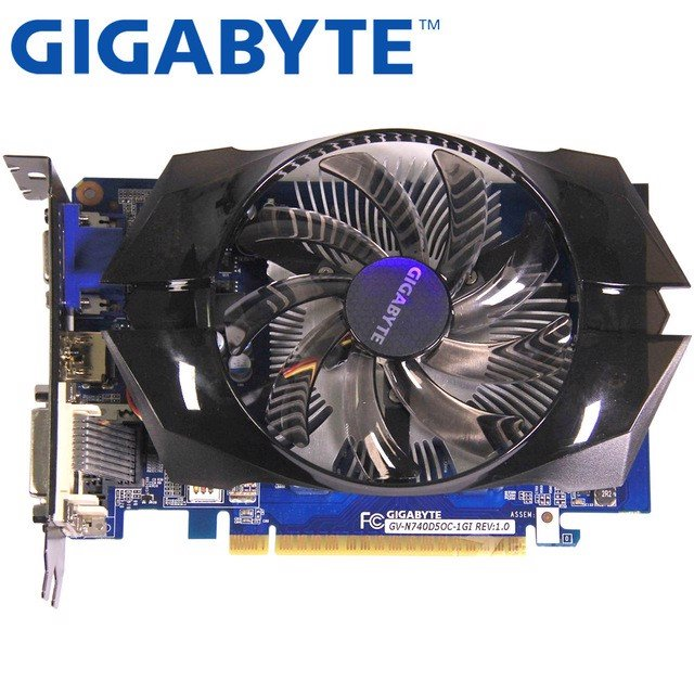 GIGABYTE NVIDIA GeForce GT 740, 2GB DDR5, 128 bits - GT740OC-2GD5