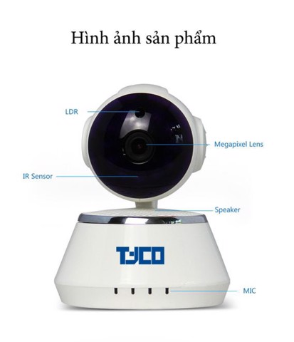 IP CAMERA TYCO SECURE DOG QF510 HD WIFI (sjc03)