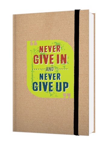 Notebook Đls 08 - Never Give In And Never Give Up