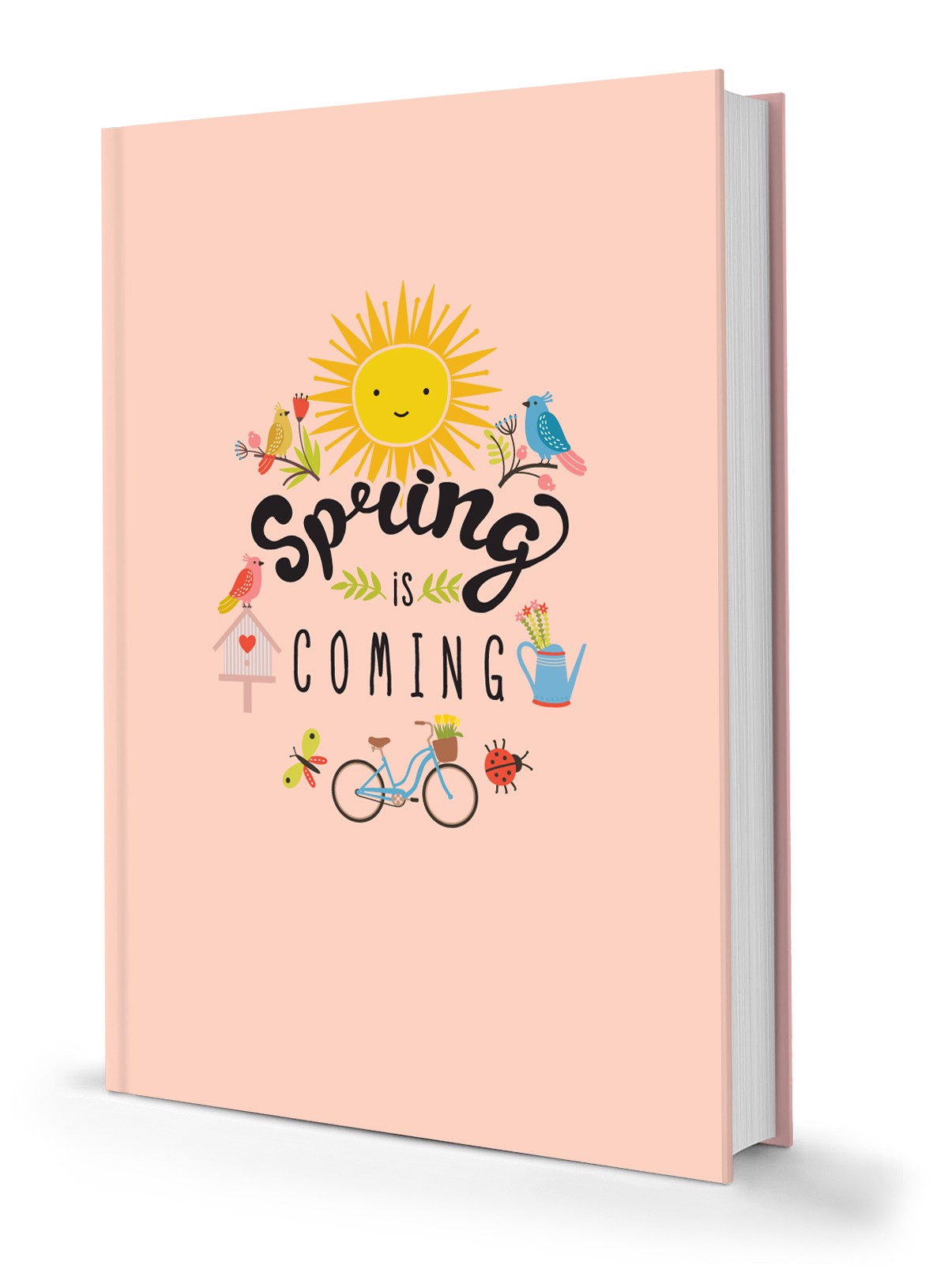 Notebook Phong Cách Sống – Spring Is Coming