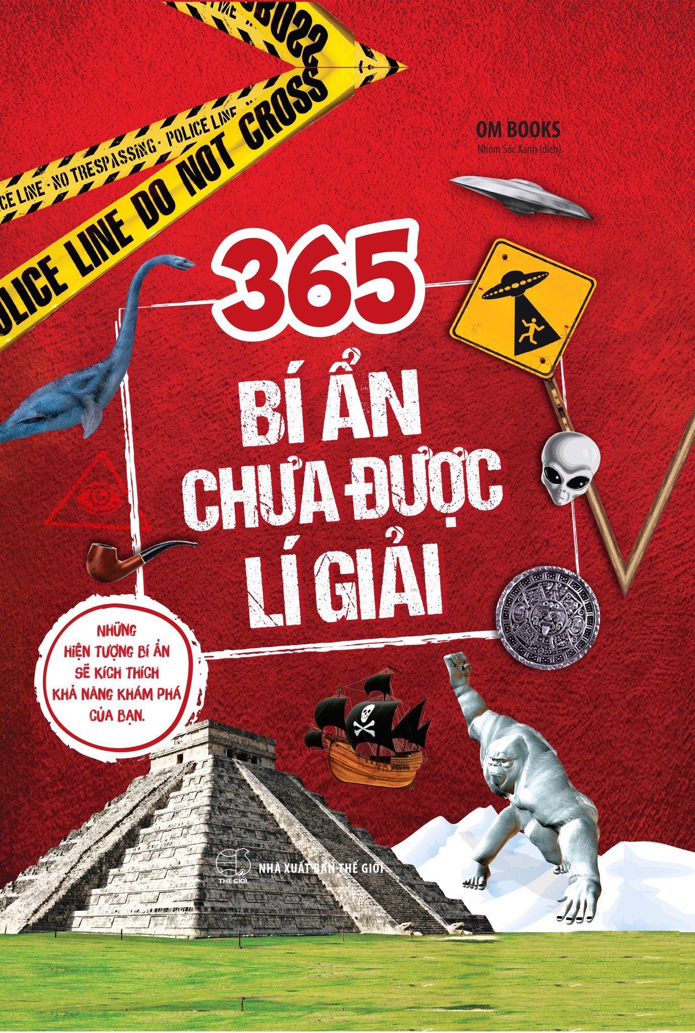 Sách: 365 Bí ẩn Chưa Được Lí Giải