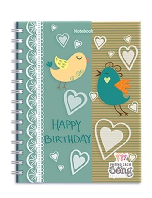 Notebook: Phong cách sống - Happy Birthday (PCS - 06)