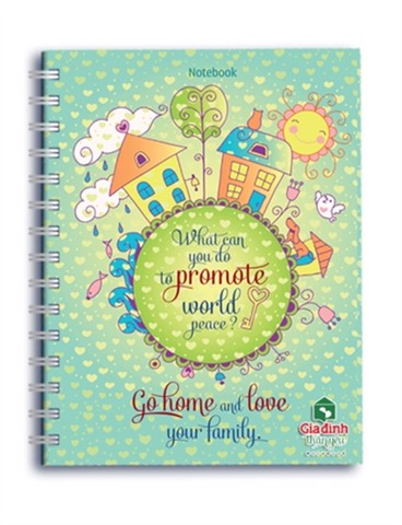 Notebook: Gia đình thân yêu - Go home and love your family (GDDTY - 01)