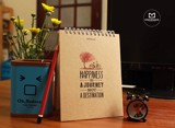 Notebook - Happiness Is A Journey Not A Destination (Pcs - 10)