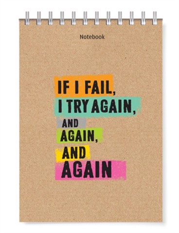 Notebook - if i fail, i try it again, and again, and again (PCS - 08)