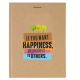 Notebook - If you want happiness, provide it to others (PCS - 11)