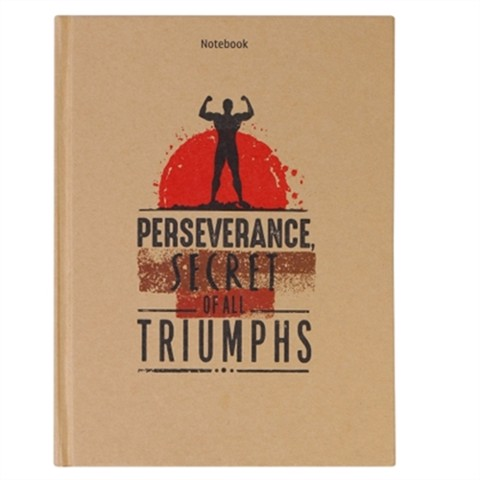Notebook - Perseverance Secret Of All Triumphs (Pcs - 14)