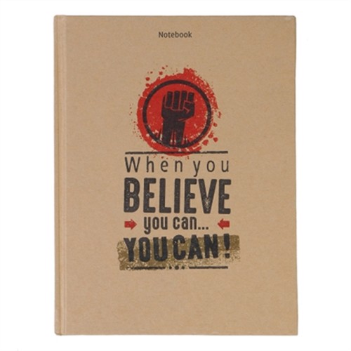 Notebook - When You Believe You Can (Pcs - 13)