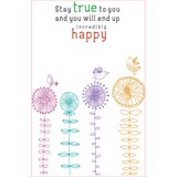 Notebook: Phong Cách Sống - Stay True To You… (Pcs - 04)
