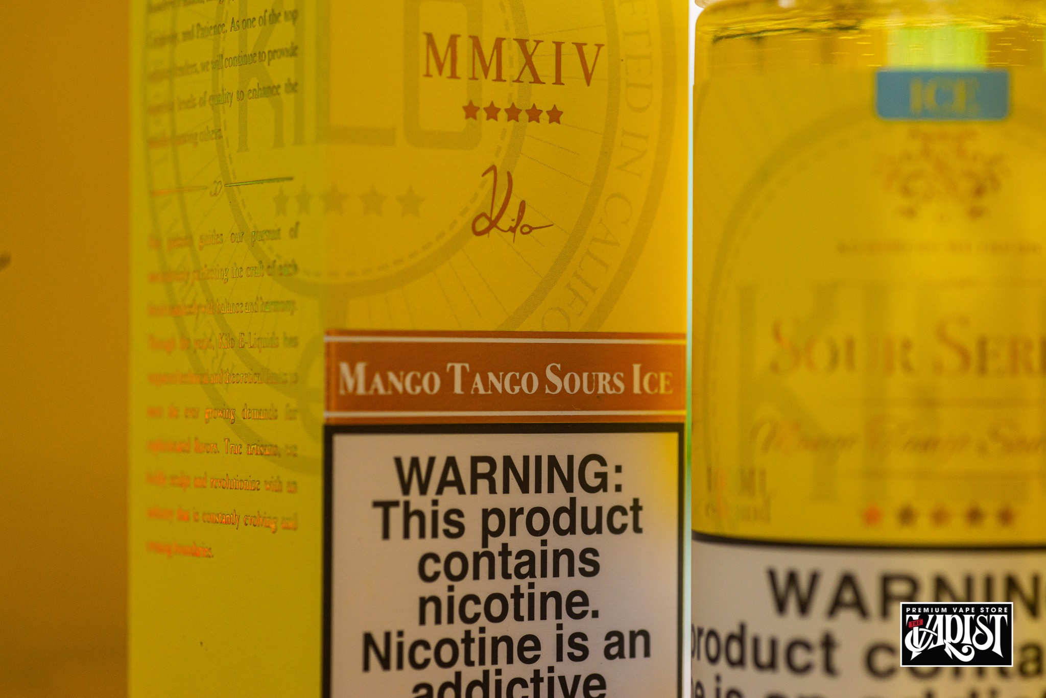 Kilo Eliquid Sour Series - Mango Tango ICE 100ML