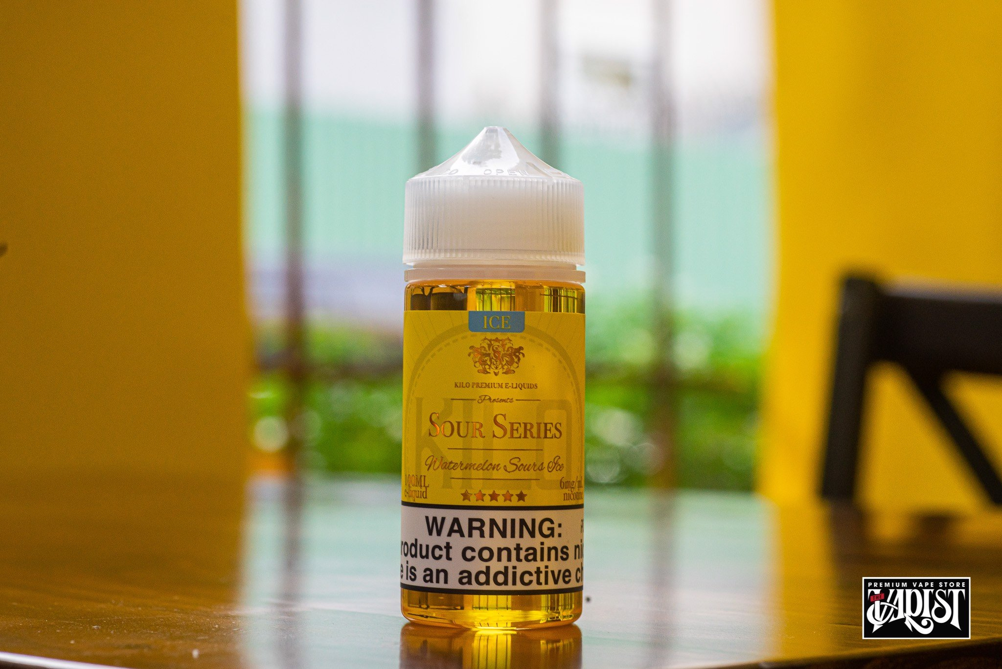 Kilo Eliquid Sour Series - Watermelon ICE 100ML