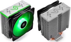 DEEPCOOL GAMMAXX GT - RGB AIR COOLER - GREEN LED