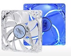DEEPCOOL XFAN 120U L/B LED BLUE (1300RPM)