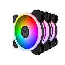 FORGAME GLAZE RGB FAN KIT 3PCS (HUB+REMOTE)