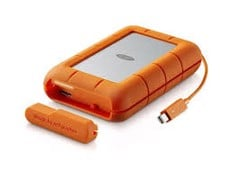 LACIE RUGGED THUNDERBOLT USB-C 4TB STFS4000800