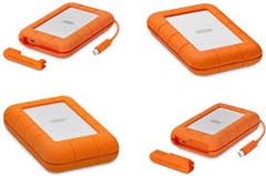 LACIE RUGGED THUNDERBOLT USB 3.0 500GB (SSD)