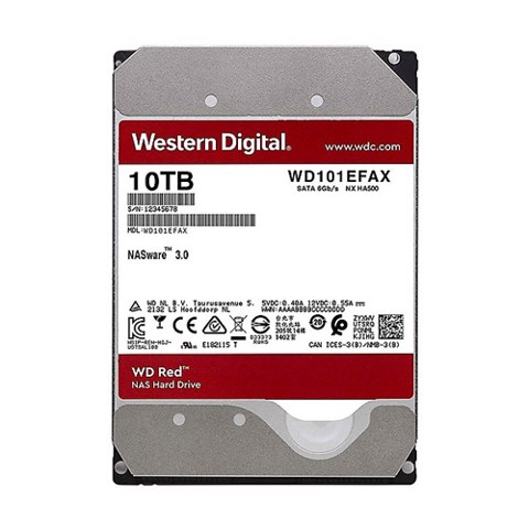 Nas Wd Red 10Tb Wd101Efax
