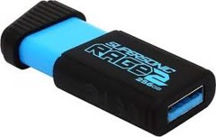 PATRIOT SUPERSONIC RAGE 2 USB 3.1 FLASH DRIVE 128GB, 256GB , 512GB