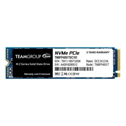 Ssd Teamgroup Mp34 512Gb (M.2, Pcie 3.0 X4)
