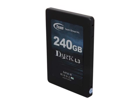 "TEAM GROUP DARK L3 2.5"" SSD 240GB"