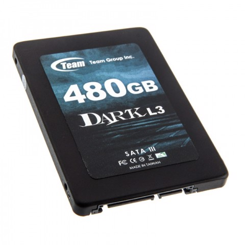 "TEAM GROUP DARK L3 2.5"" SSD 480GB"