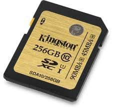 THẺ NHỚ KINGSTON 256GB - SD
