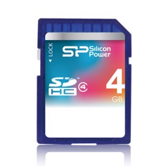THẺ NHỚ SILICON POWER 4GB - CF