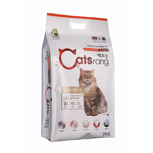 Thức ăn hạt cho mèo mọi lứa tuổi 5kg | Catsrang – DogParadise